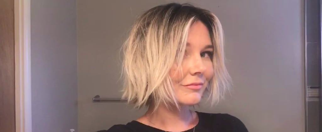 You Won't Believe How Much Product This Stylist Puts in Her Hair, but the Results are Amazing