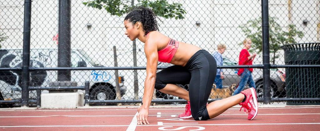 Fitness Model Strength Training