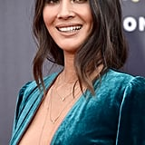 Olivia Munn Green Jumpsuit MTV Awards 2018