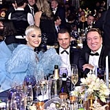 Katy Perry and Orlando Bloom at the 2018 amfAR Gala