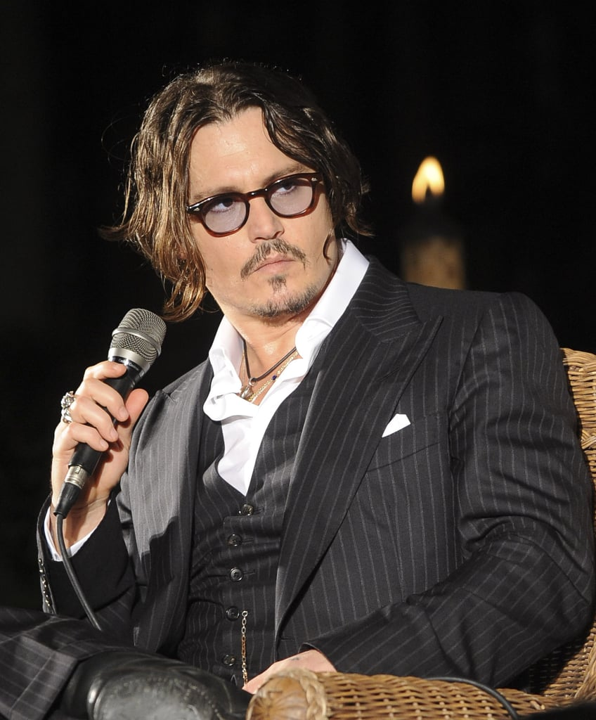 Photos of Johnny Depp in the Bahamas
