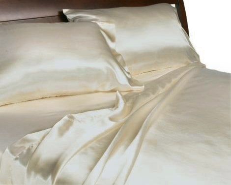 Satin Queen Sheet Set ($60)
