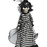 Halloween Sitting Skeleton Girl