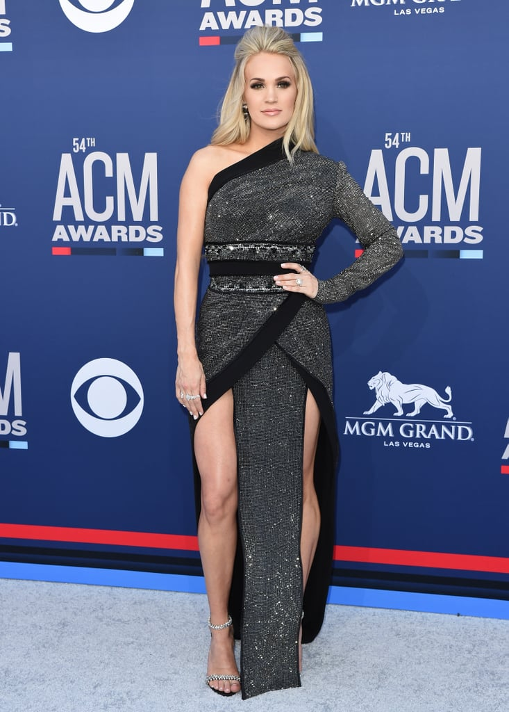 Carrie Underwood's Black Gown at 2019 ACM Awards | POPSUGAR Fashion UK