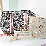 Margherita Missoni Geo Diaper Bag ($179), Margherita Missoni Embroidered Pouches ($36-$49)