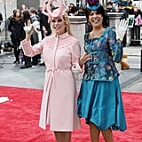 Kathie Lee Gifford and Hoda Kotb as Princesses Beatrice and Eugenie