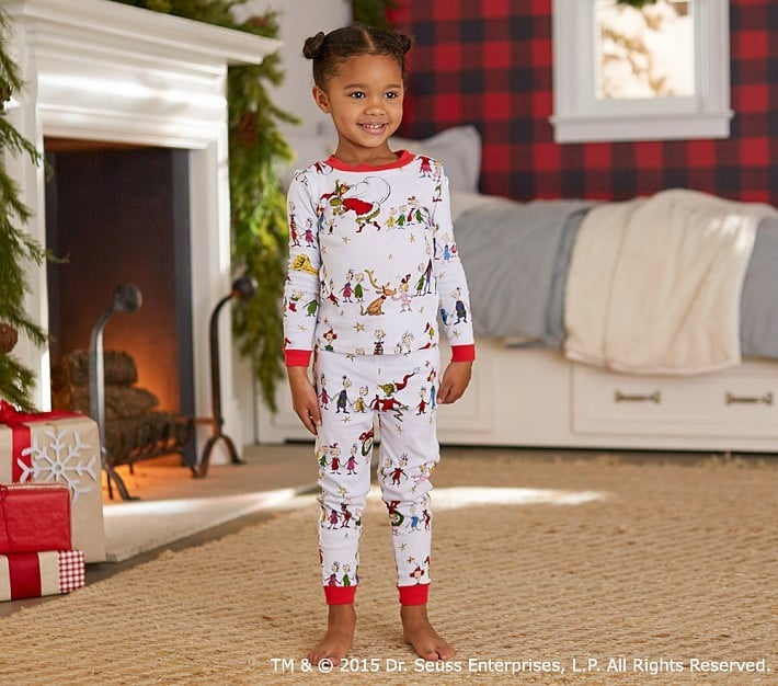 Kids Christmas Footie Pajamas