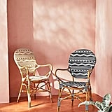 Amalfi Striped Bistro Chairs