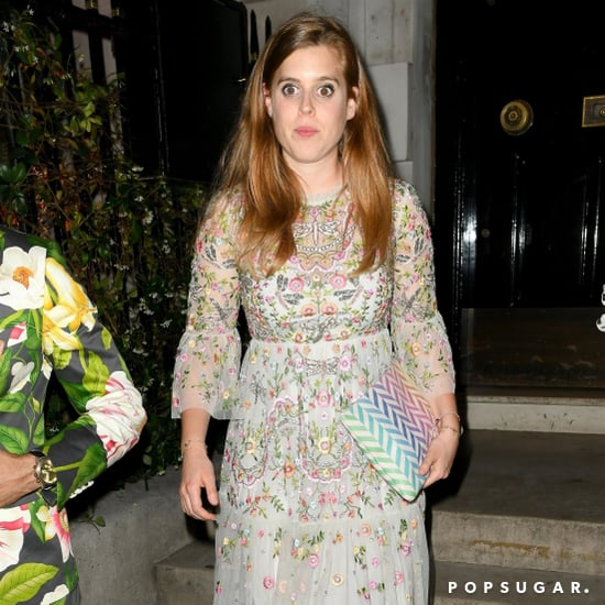 Princess Beatrice's Embroidered Dress Needle & Thread