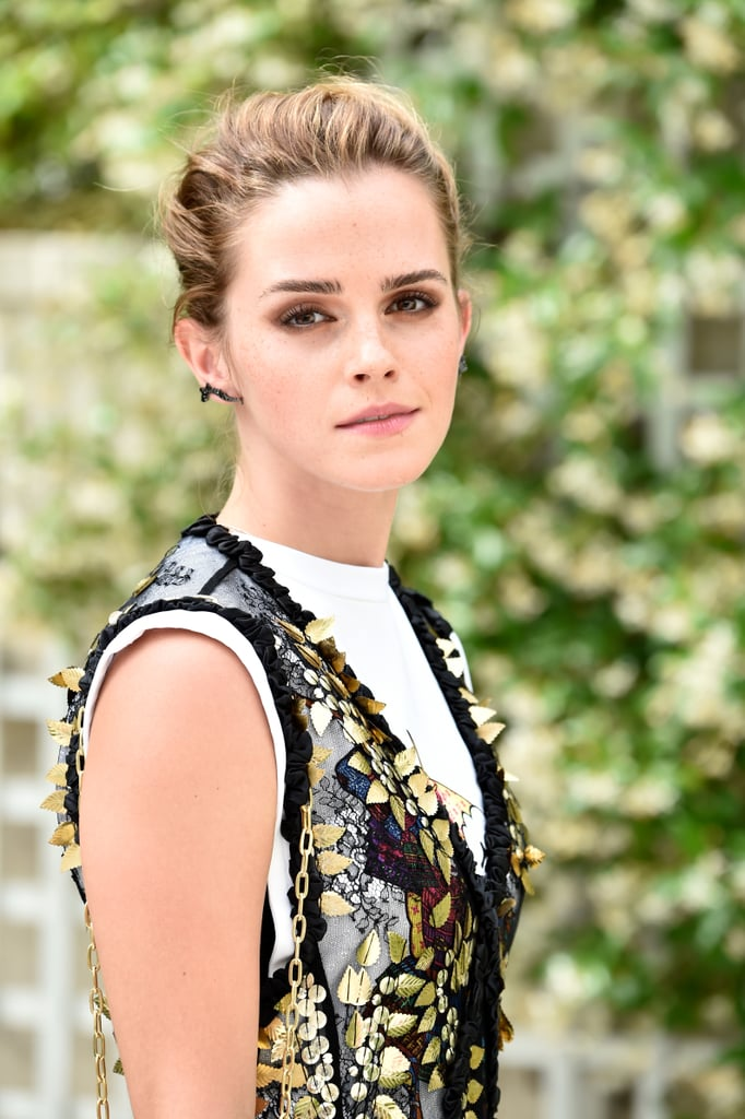 Emma Watson Sheer Louis Vuitton Dress