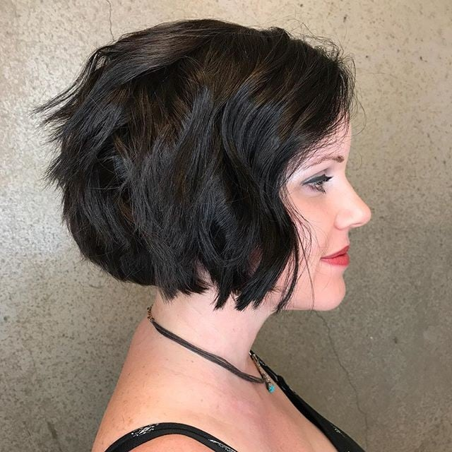 Short Hairstyles For Thick Hair Popsugar Beauty
