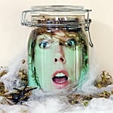 Floating Head in a Jar