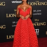 Pictured: Marsai Martin at The Lion King premiere in Hollywood.