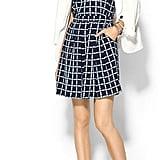 Tinley Road Windowpane-Print Dress
