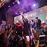 Drake Celebrating Toronto Raptors Winning NBA Finals