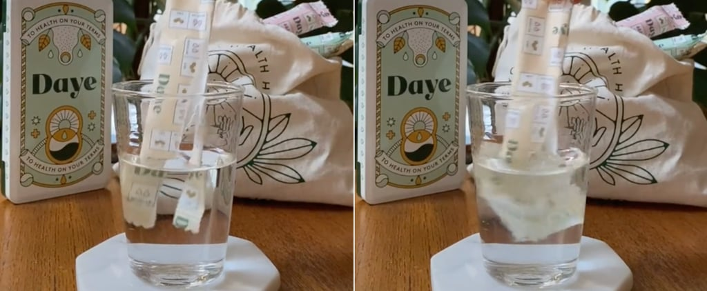 Meet Daye, the Organic Tampon With a Water-Soluble Wrapper