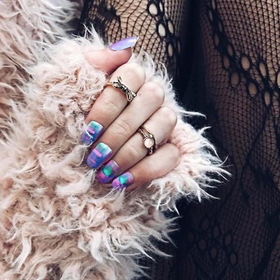 Tie-Dye Nail Art Trend