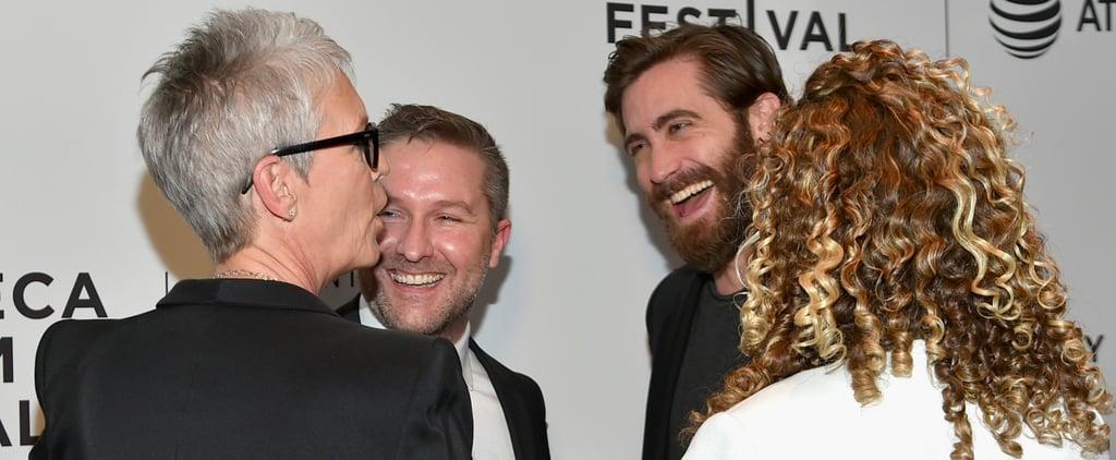 Jake Gyllenhaal and Jamie Lee Curtis Hondros Premiere 2017