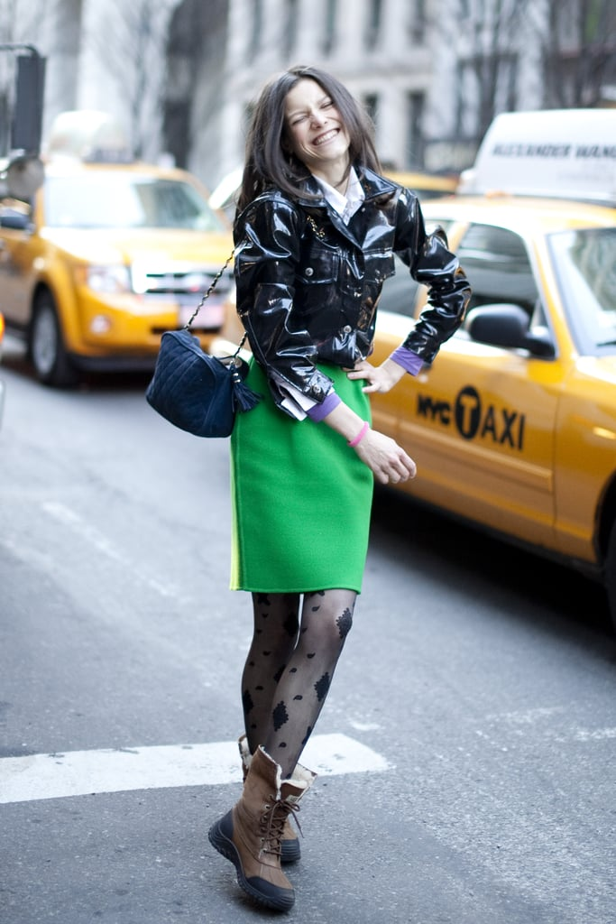 NYFW Street Style — Spotted With a Pop of Color!
