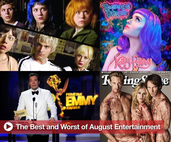 August's Best and Worst Movies, Music, and TV