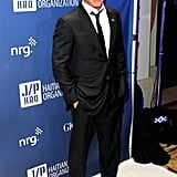 Sean Penn was the man of the hour.