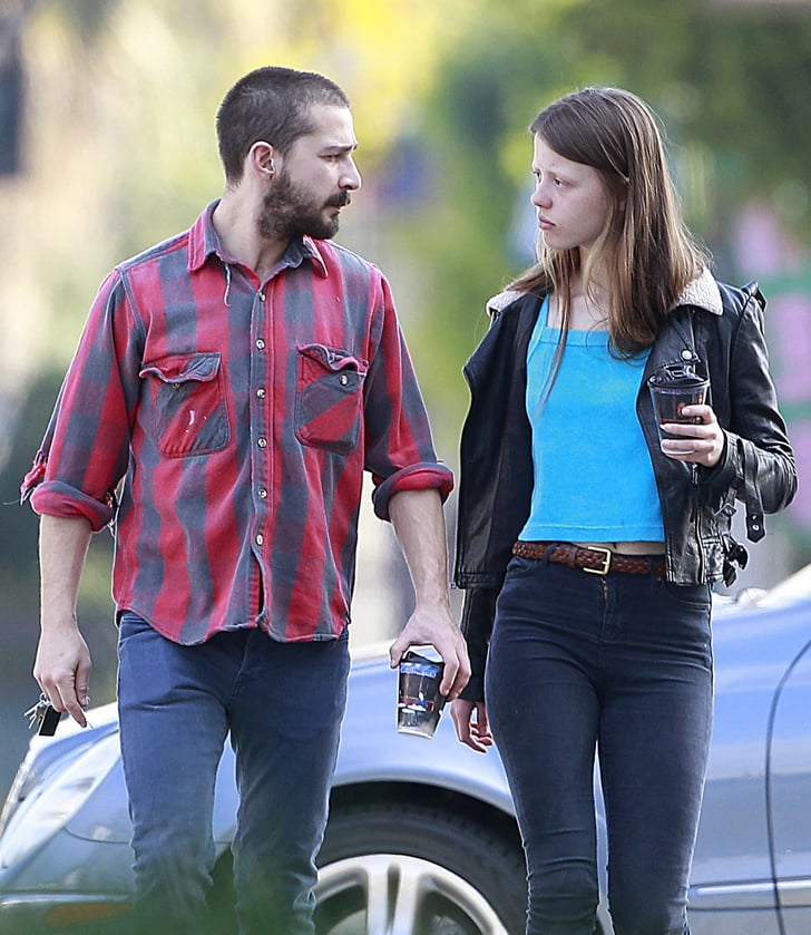 Shia Labeouf With Girlfriend Mia Goth | Pictures ... шайа лабаф