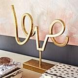 Golden Love Sculpture