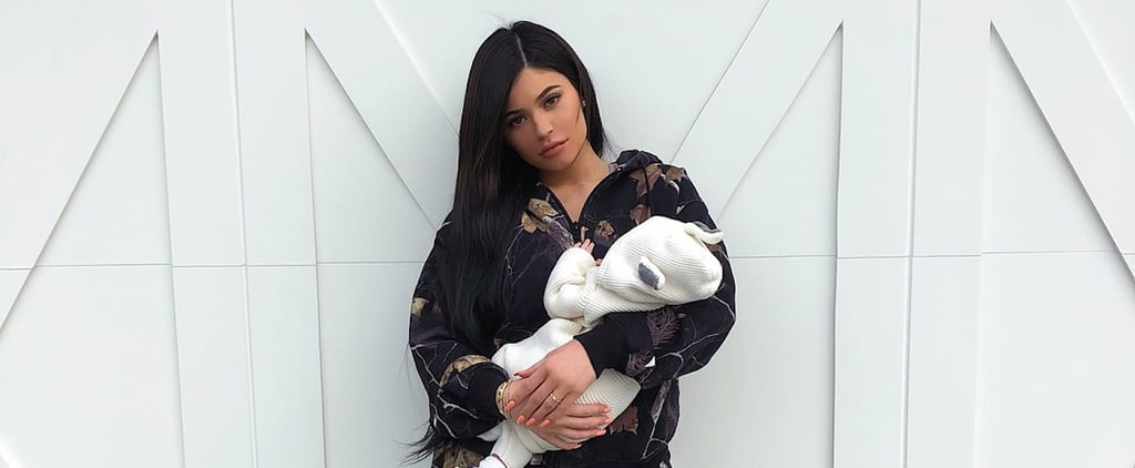 Did Kylie Jenner Choose This Tracksuit Because It Looks Like a Storm's a-Brewin'?