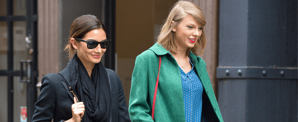 Taylor Swift and Lily Aldridge Shopping Together   Video