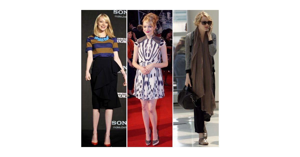 A Week Of Chic With Emma Stone See Her Latest Red Carpet And Street Style Looks Popsugar