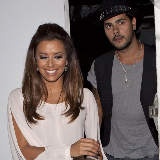 Eva Longoria and Eduardo Cruz Pictures at Beso