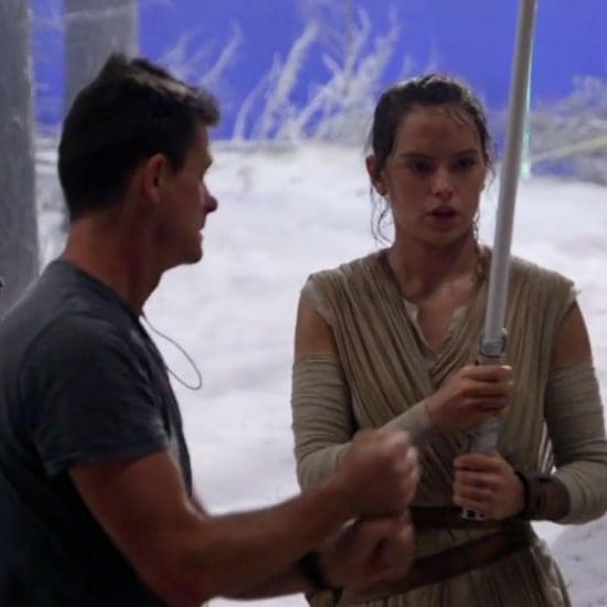Daisy Ridley and John Boyega's Star Wars DVD Extra