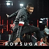 Usher showed off his dance moves during his concert in Miami on Saturday.
