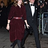 Princess Beatrice Red Alaia Dress March 2019