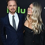 Aaron Paul Showers Lauren Parsekian With Sweet PDA on the Red Carpet