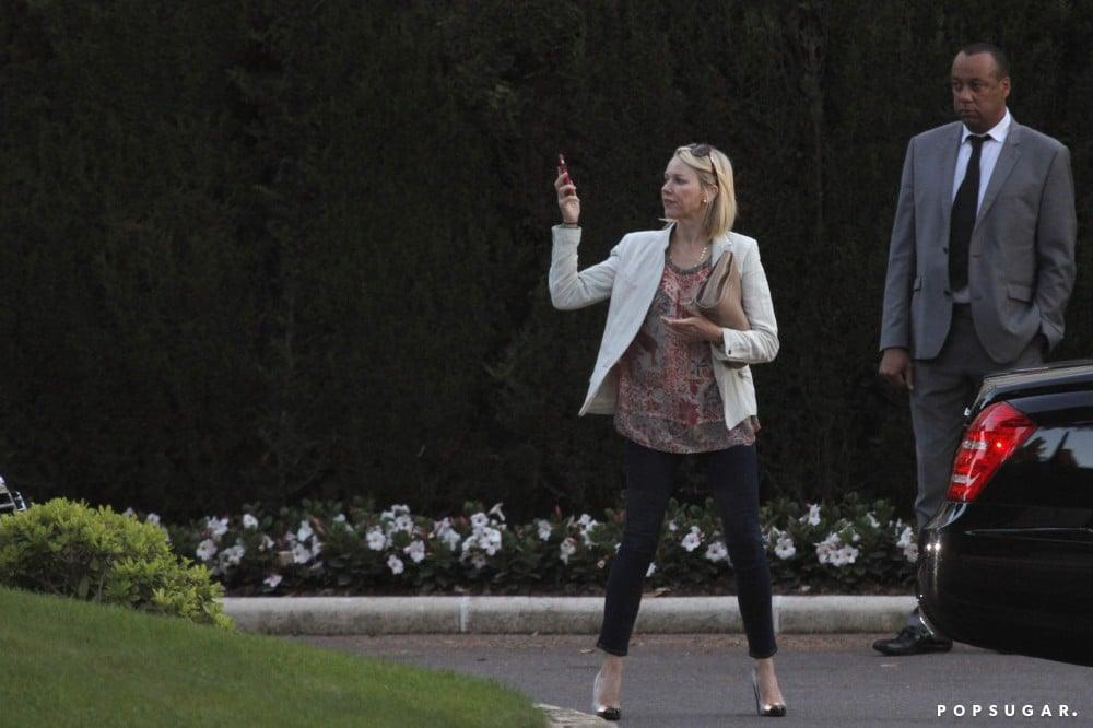 Naomi Watts saw the sights in Cannes and pulled out her camera for a casual occasion on Tuesday.