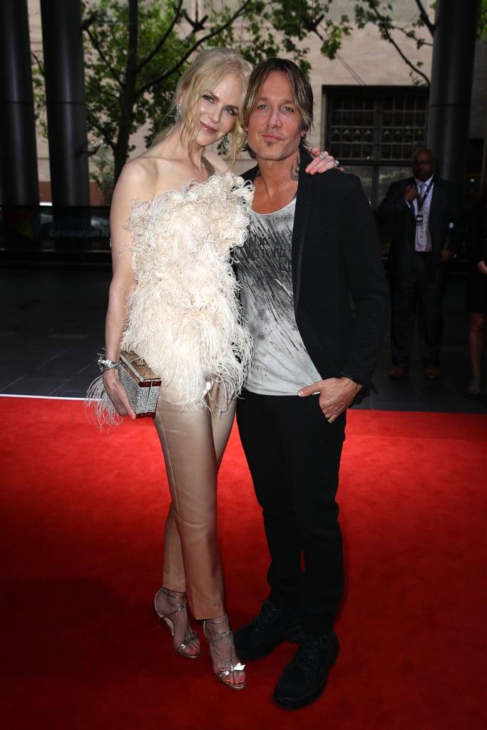 Nicole Kidman Oscar de la Renta Feather Top 2018 ARIA Awards