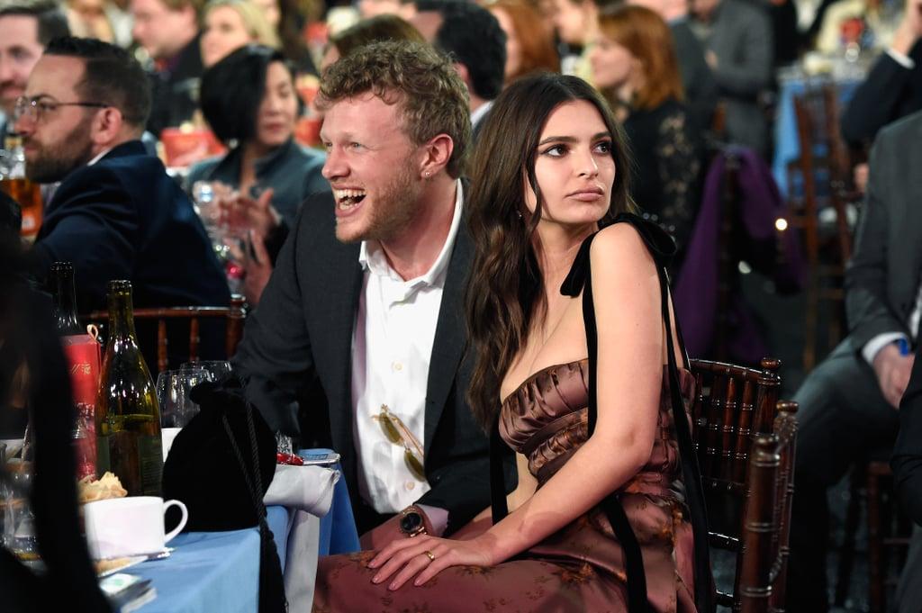 Emily Ratajkowski and Her Husband at 2018 Spirit Awards