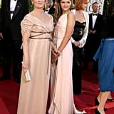 Meryl and Louisa looked lovely at the 2007 Golden Globe Awards.