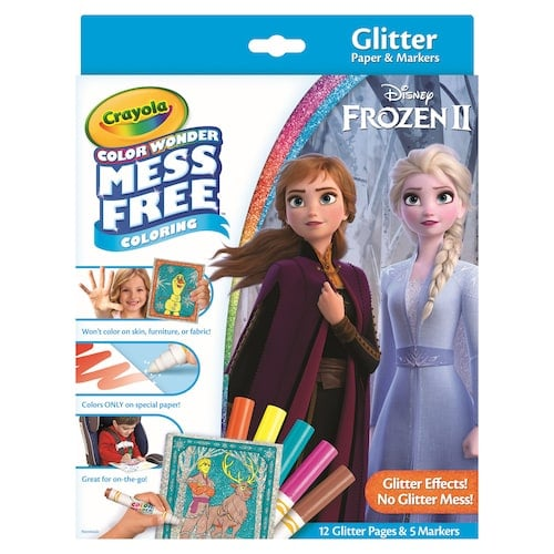 Disney S Frozen 2 Glitter Effects Colour Wonder Set By Crayola Frozen 2 Disney Gifts For Kids From Kohl S Popsugar Australia Parenting Photo 13