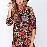 Lulu's Floral Print Dress
