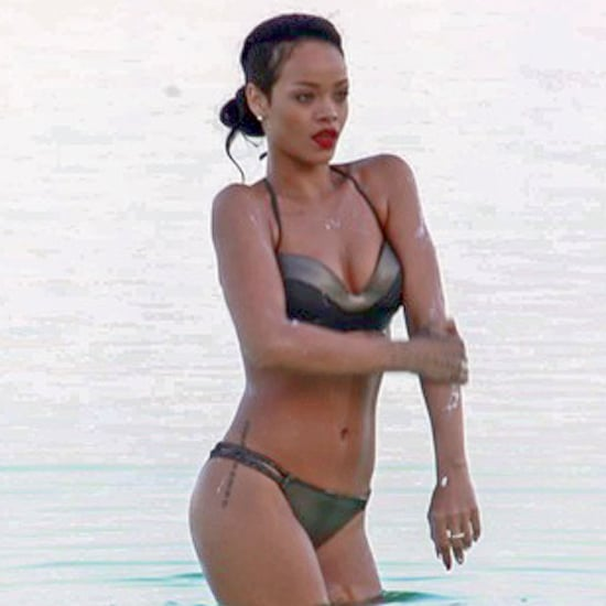 Rihanna Swimming in the Dead Sea | Pictures