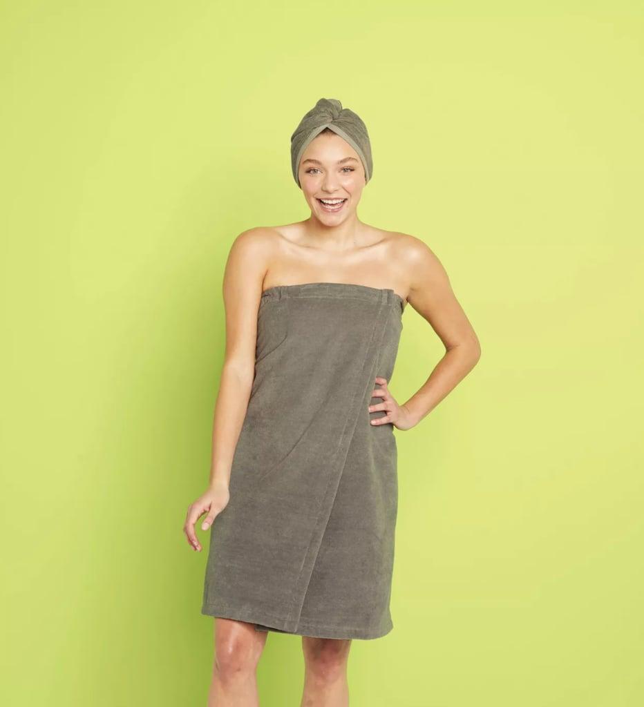 Cool Gray: Room Essentials Bath Body Wrap