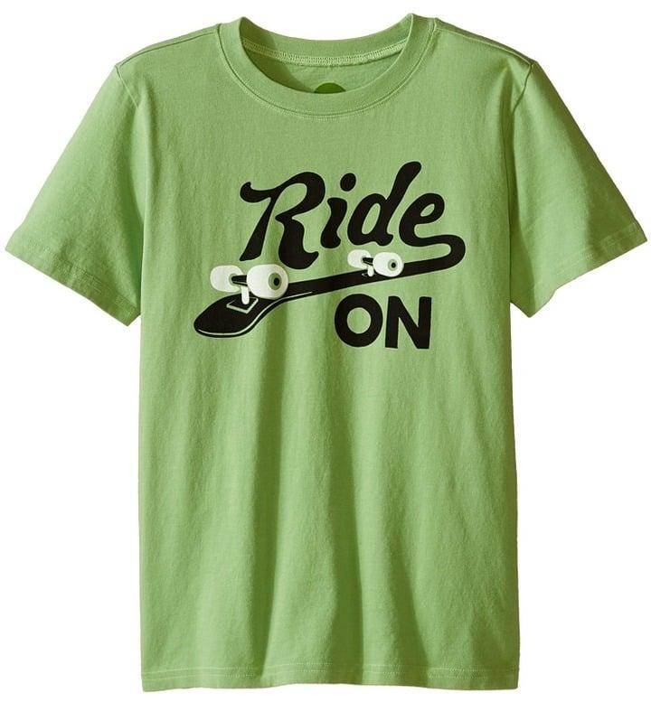 Ride on Ride Skateboard Crusher Tee