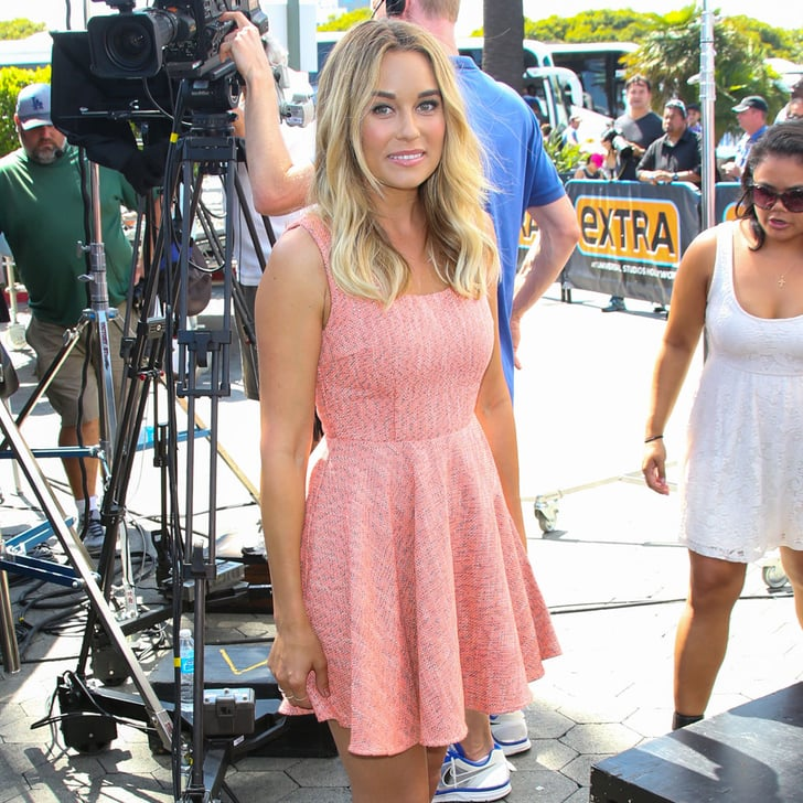 Lauren Conrad Pink Dress