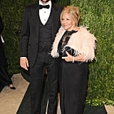 Bradley Cooper and his mom, Gloria, posed together before heading into the Vanity Fair Oscar party Sunday night in LA.
