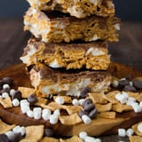 S'mores Graham Cereal Bars Recipe