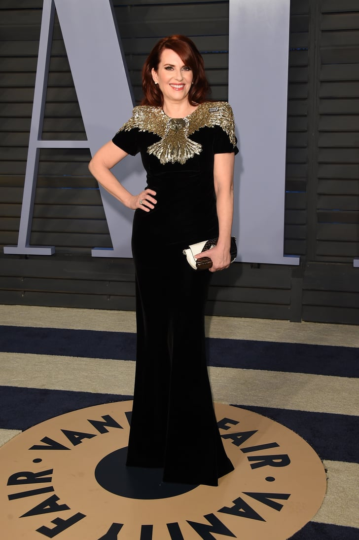 Megan Mullally Vanity Fair Oscars Party Dresses 2018