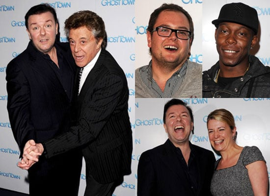 Photos Of Ricky Gervais Dancing With Lionel Blair at VIP Screening Of Ghost Town