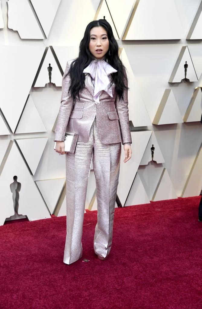 Awkwafina at the 2019 Oscars
